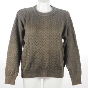 Roundtree & York -  Cable Knit Sweater - Size -M